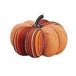 fall mantel ideas - pumpkin