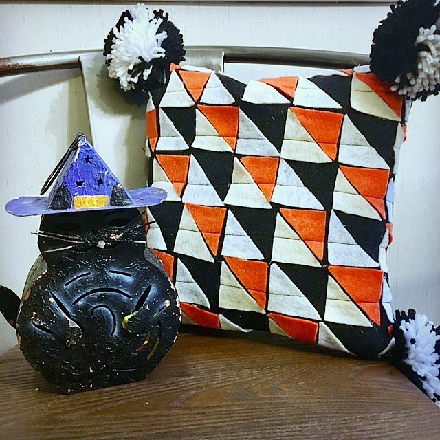 Halloween Pillow - Felt