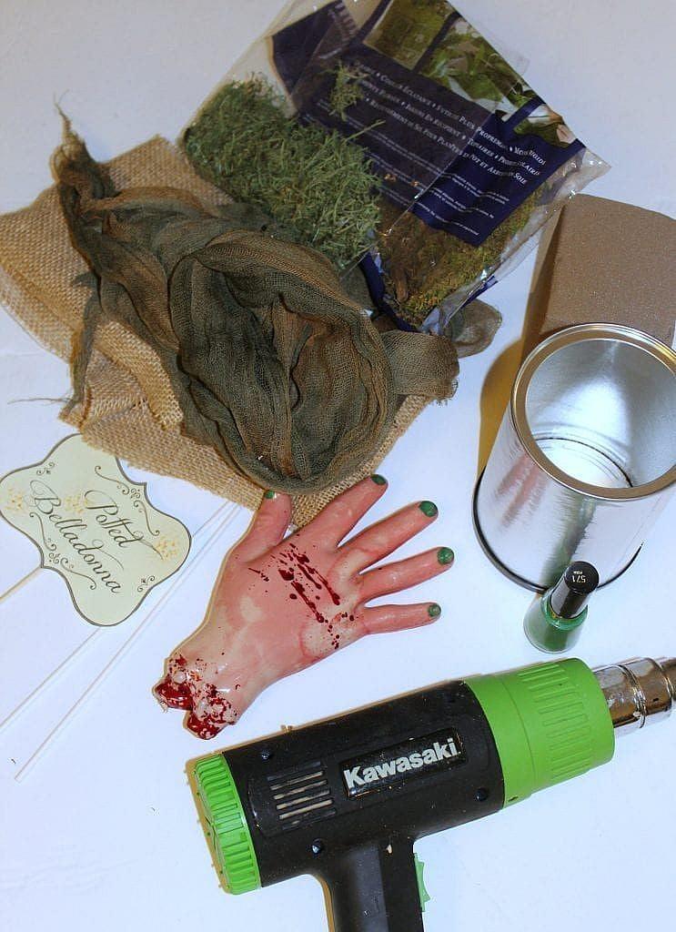Materials Halloween Prop