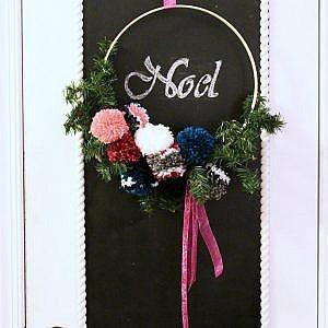 hoop wreath - feature