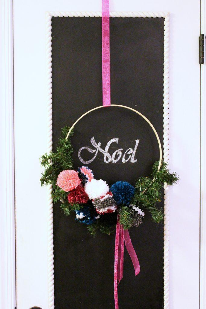 hoop wreath - full view