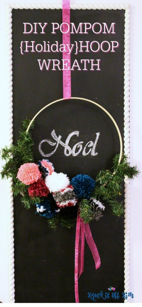 hoop wreath - pin