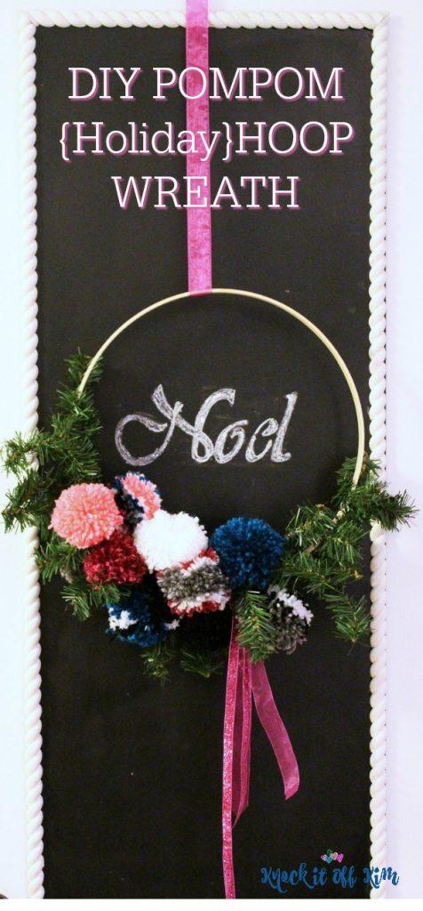 hoop wreath - pin