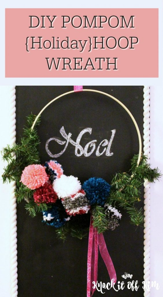 hoop wreath