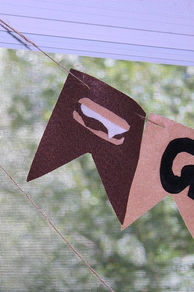 indoor smores banner closeup