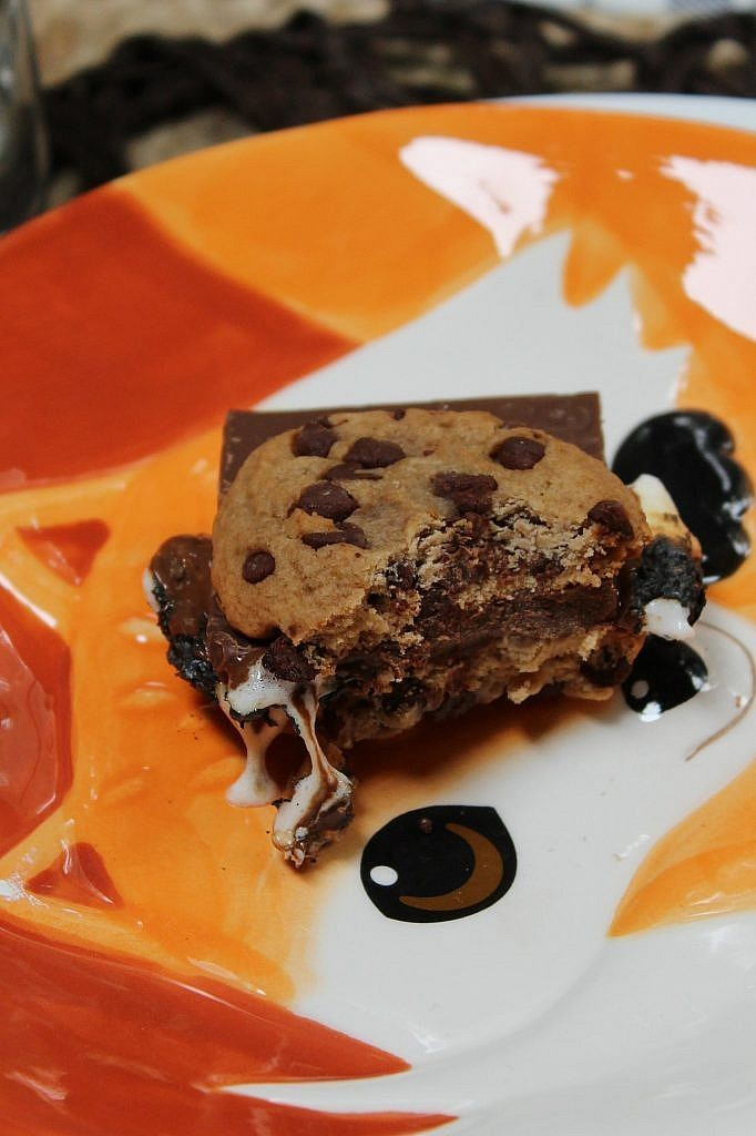 indoor smores chocolate chip smore