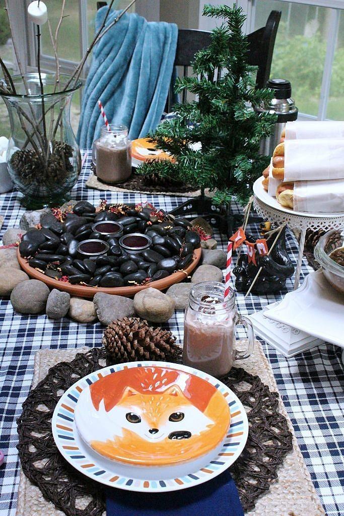indoor smores fox plate