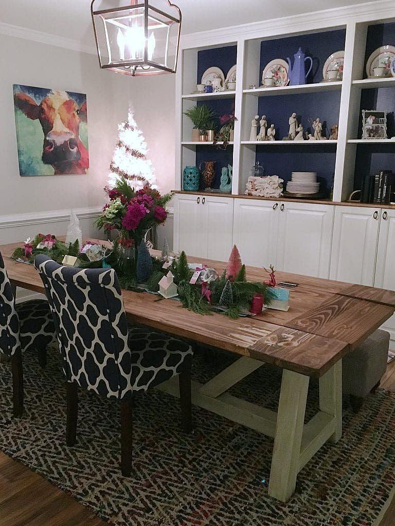 vintage Christmas -Dining Room
