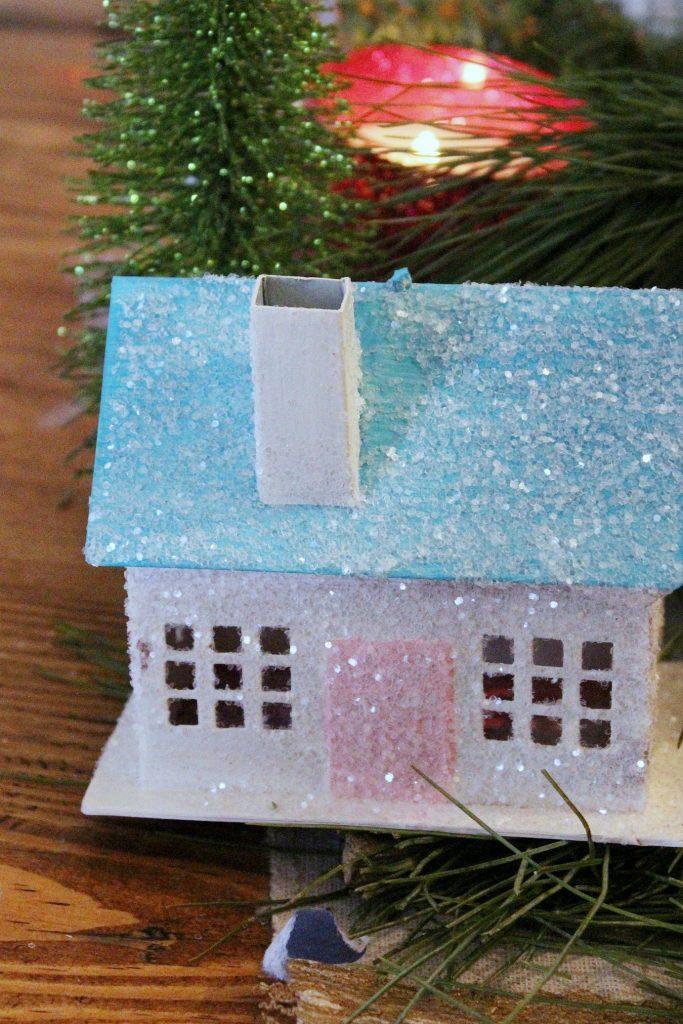 vintage Christmas - Putz Houses