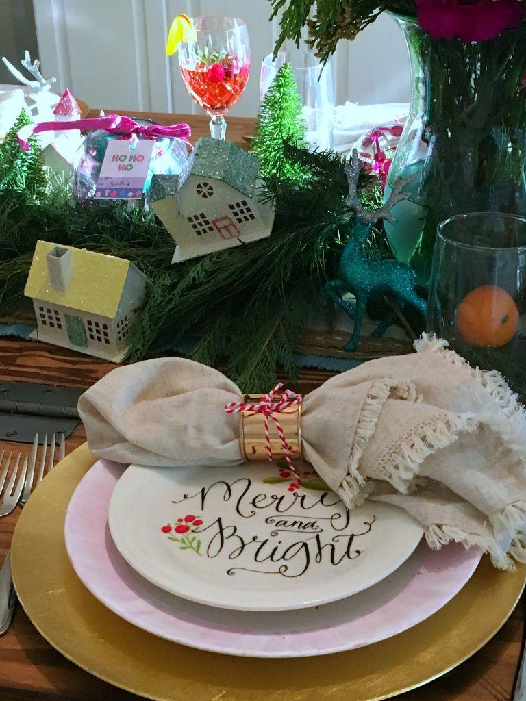 vintage Christmas - Tablesetting