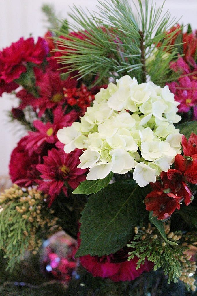 vintage Christmas - blooms 1