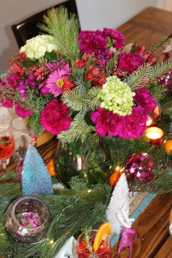 vintage Christmas - blooms 2