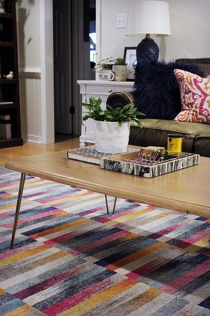 Hairpin leg Coffee Table - After