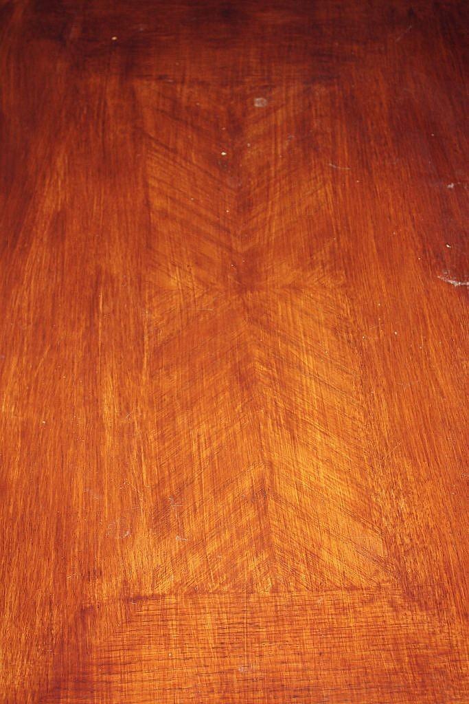 Hairpin leg Coffee Table - Before Inlay