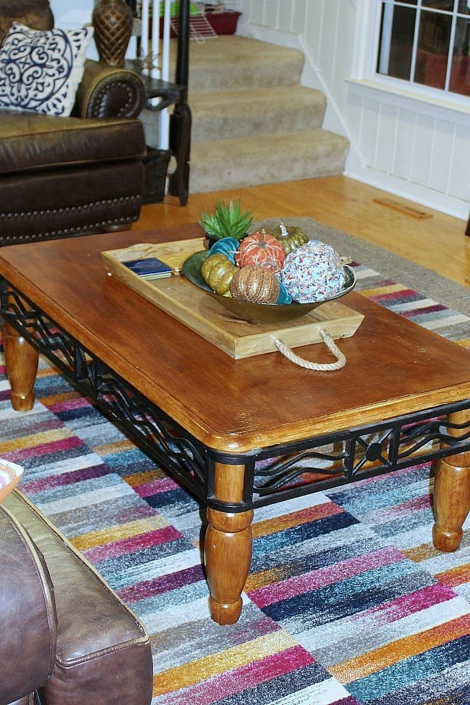 Hairpin leg Coffee Table - Before Upgrade