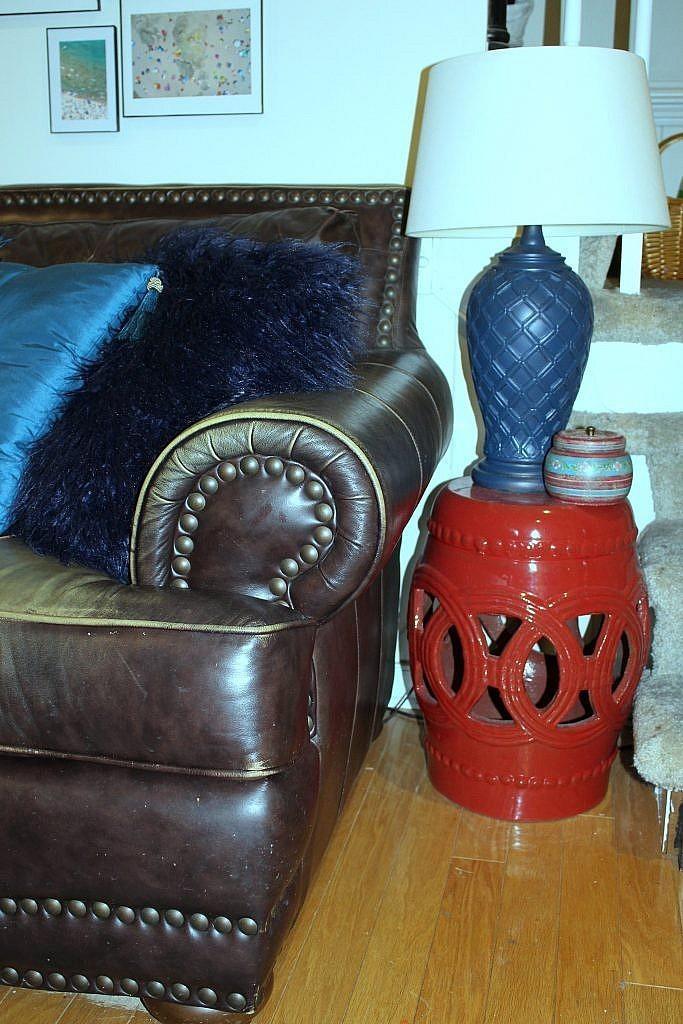 console cabinet -garden stool