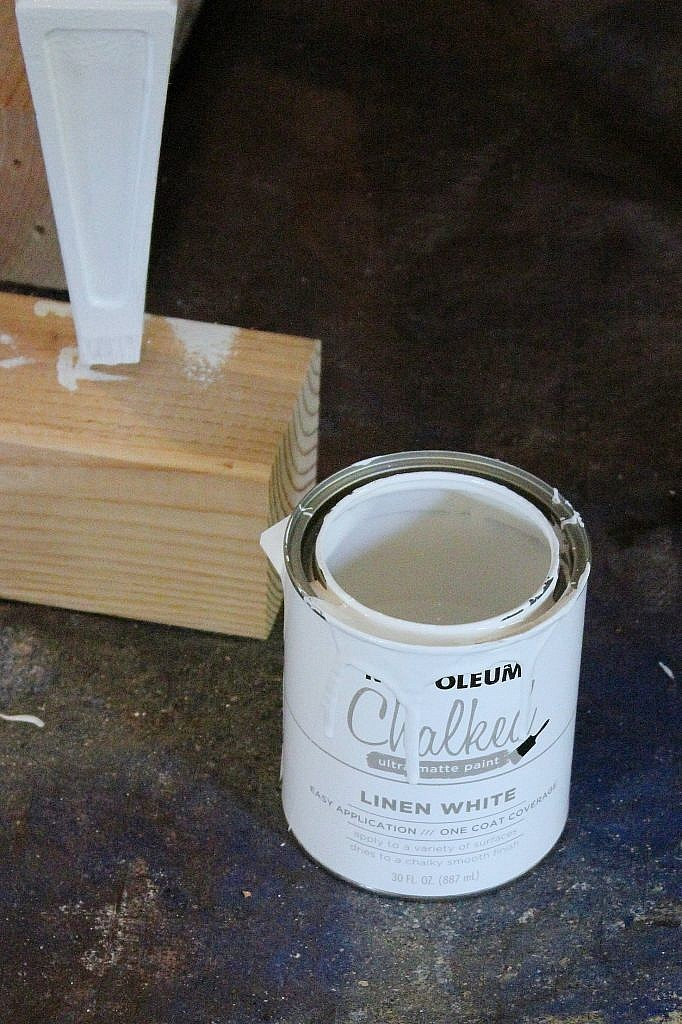 console cabinet - paint can