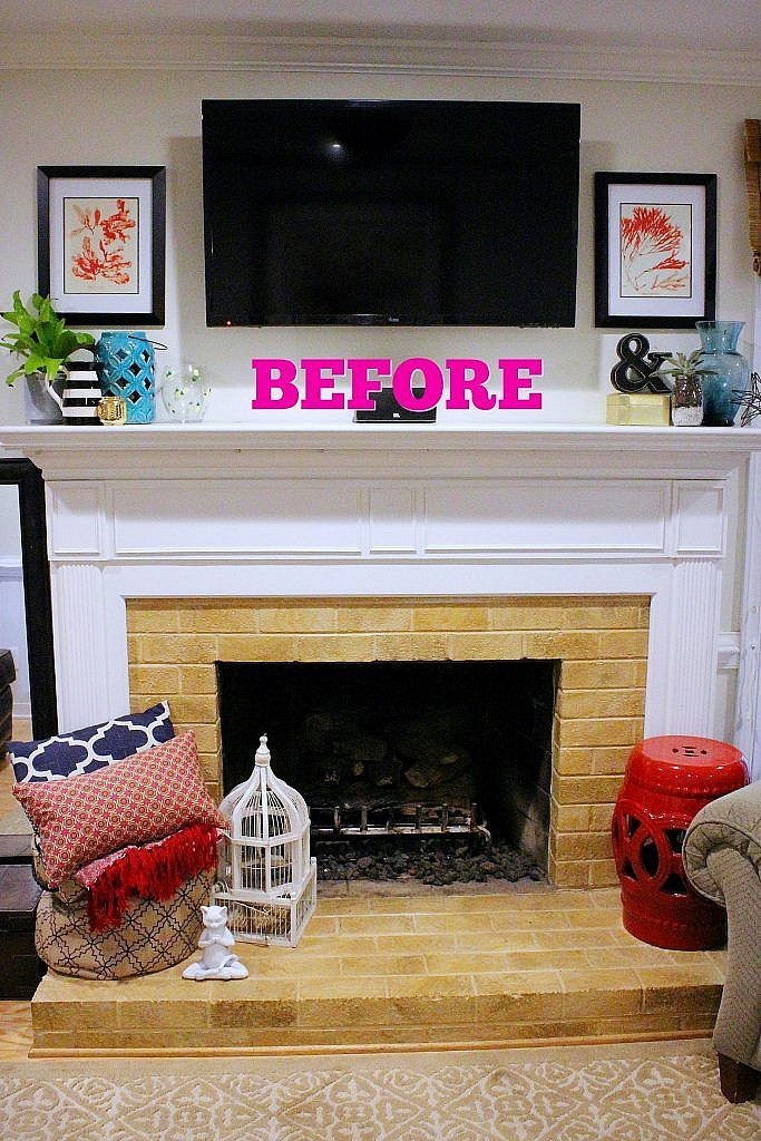 eclectic style - mantle