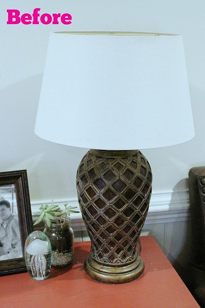 Eclectic Design - Lamp Before