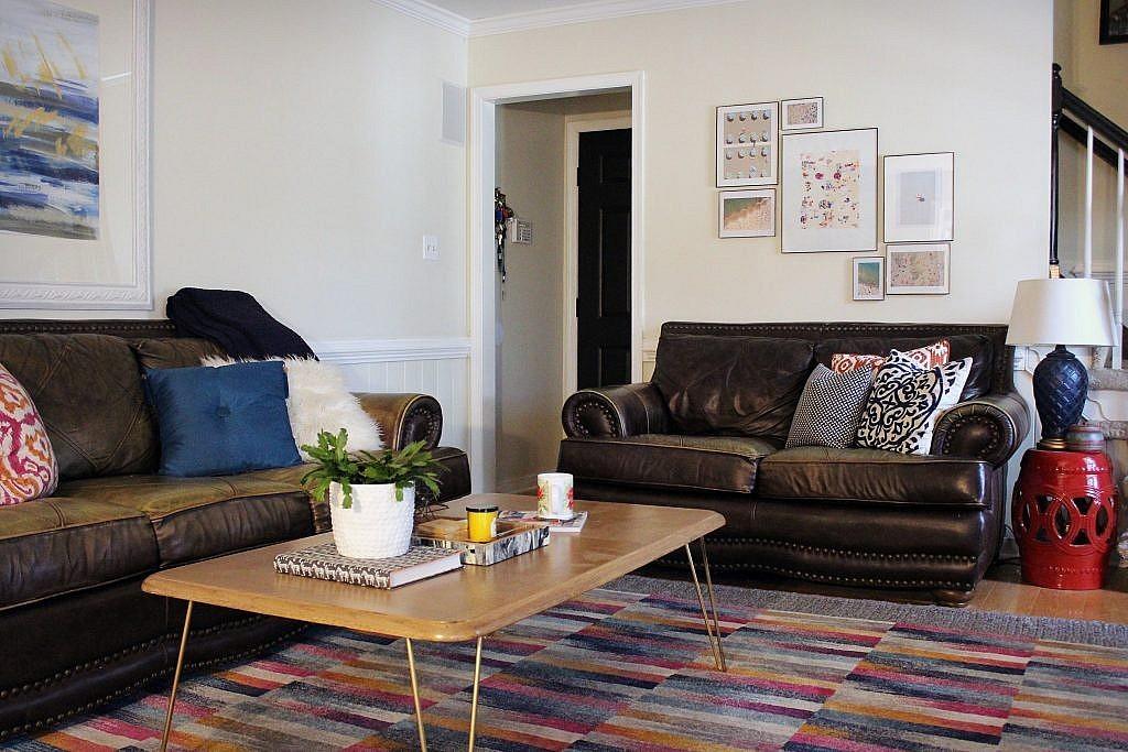 Living Room Makeover - DIY Artwork
