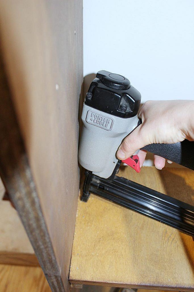 Wall Shelves - brad nail