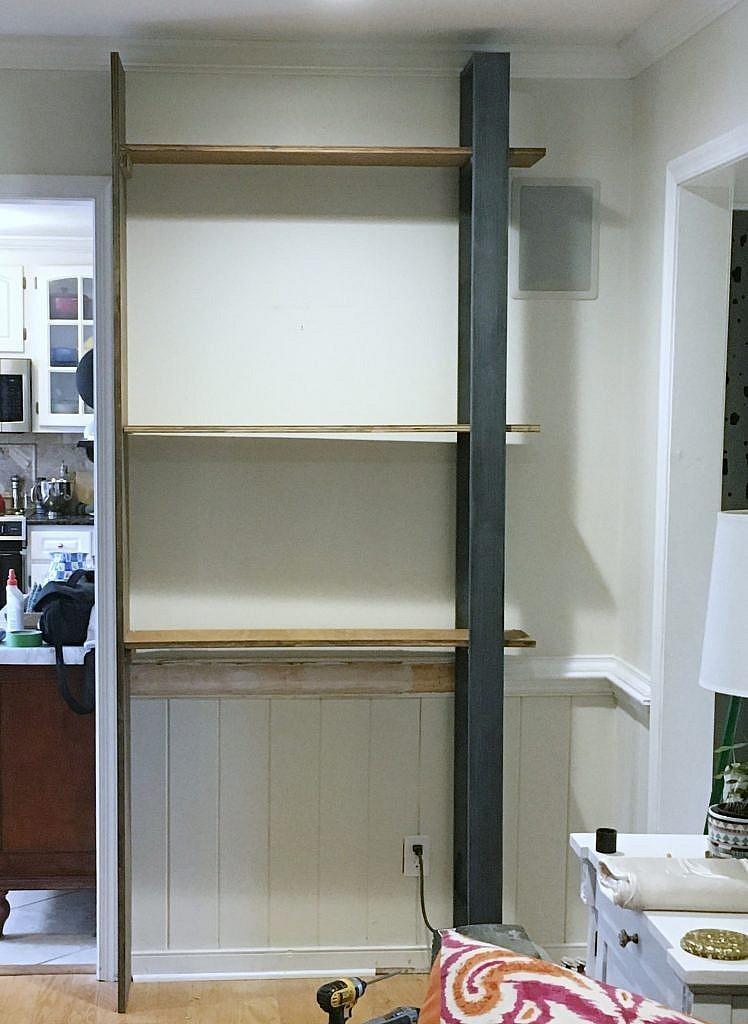 Wall Shelves - connected shelves