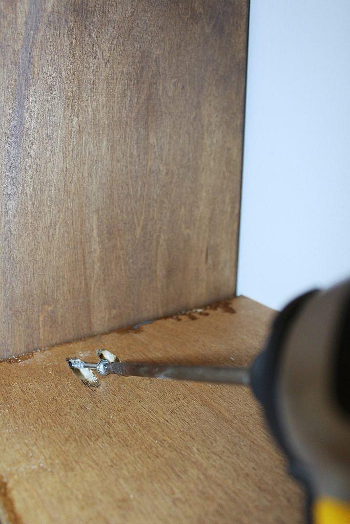 Wall Shelves - pocket hole attach