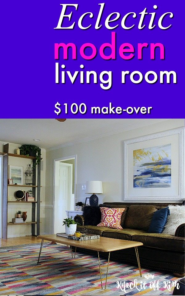 Knock it off kim home decor and diys crafts and more Modern eclectic living room
