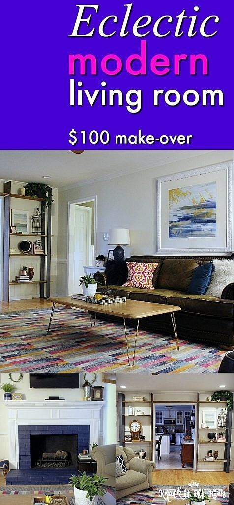 eclectic modern - pin