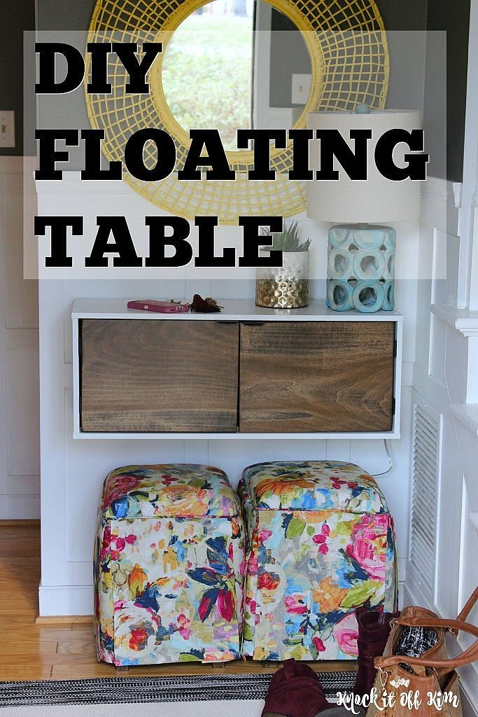 floating table