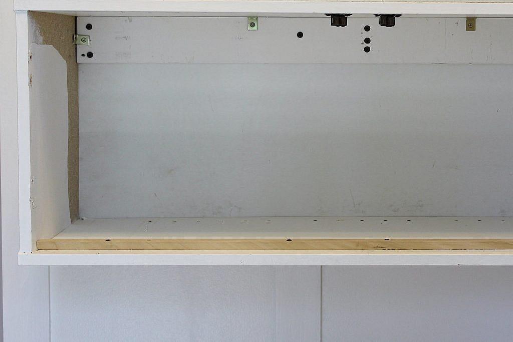 floating table - doorstop