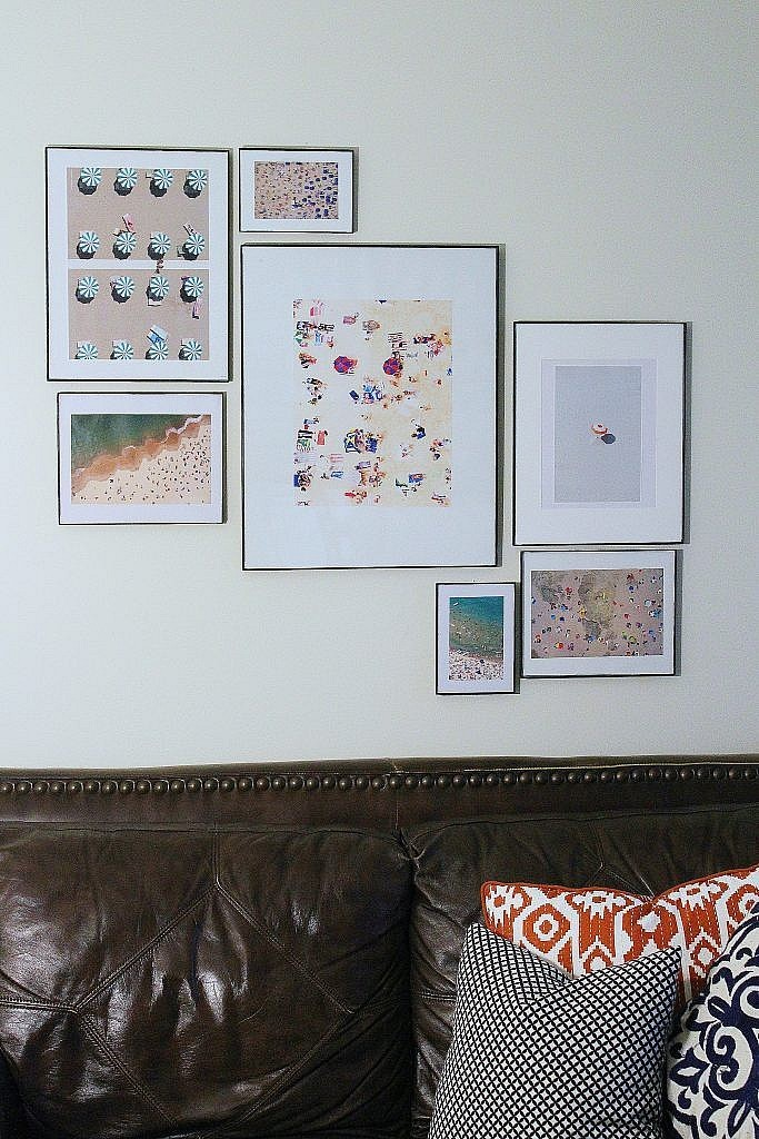 eclectic modern -DIY gray malin art