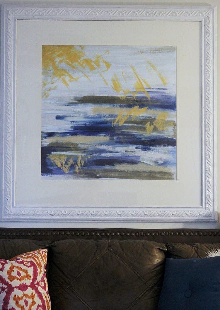 eclectic modern - diy abstract art
