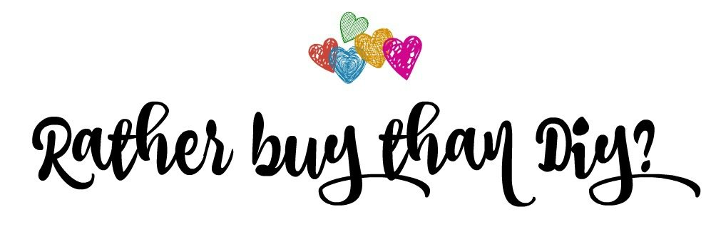 rather buy than diy