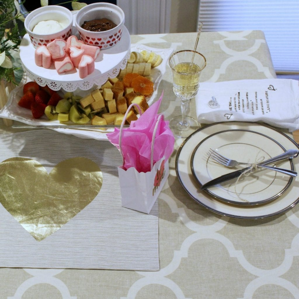 valentines table for two- feature