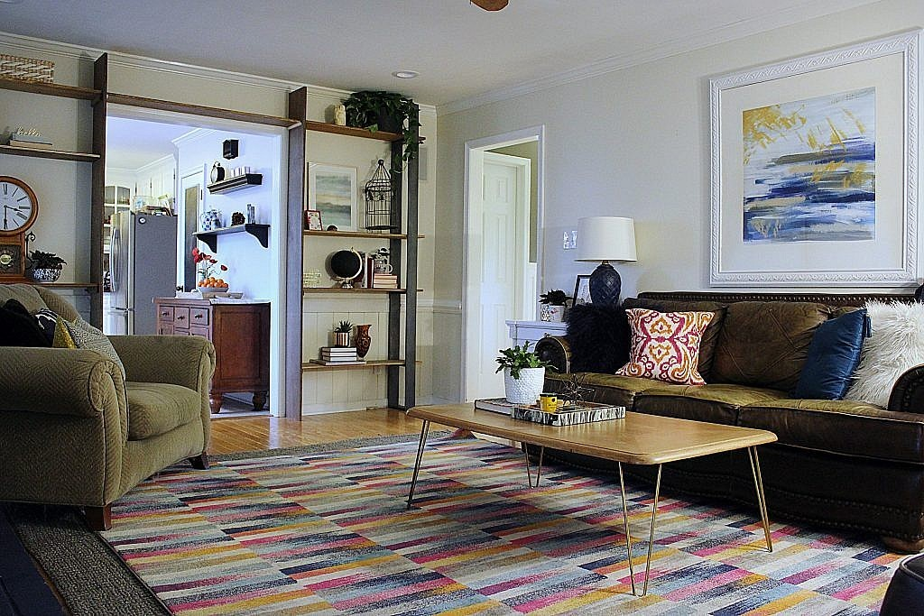 eclectic modern - after whole room 1