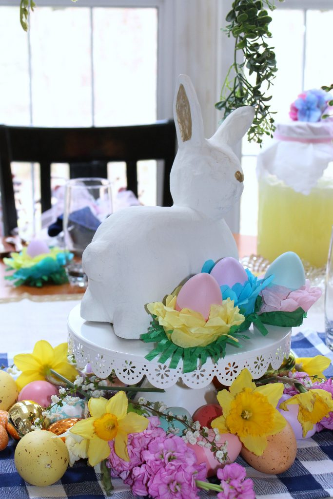 Easter Table Decorations - centerpiece