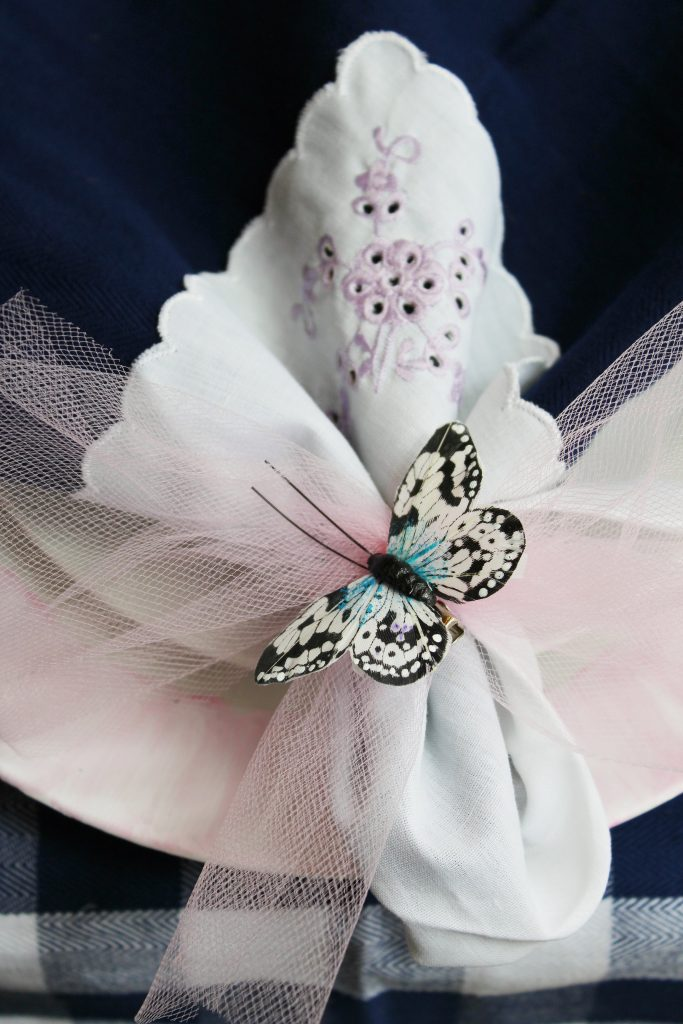 Easter Table Decorations - napkins