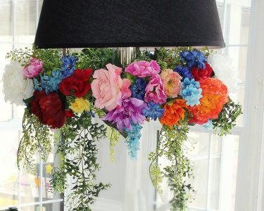 flower chandelier - FEATURE