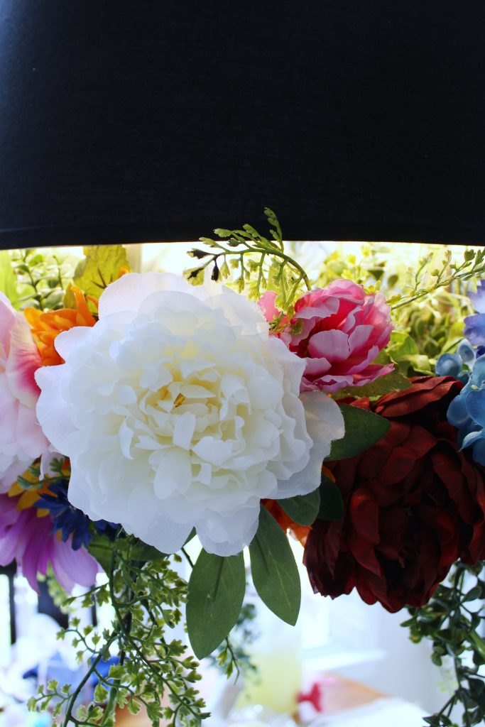flower chandelier - small blooms