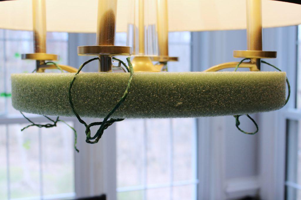 flower chandelier - suspend