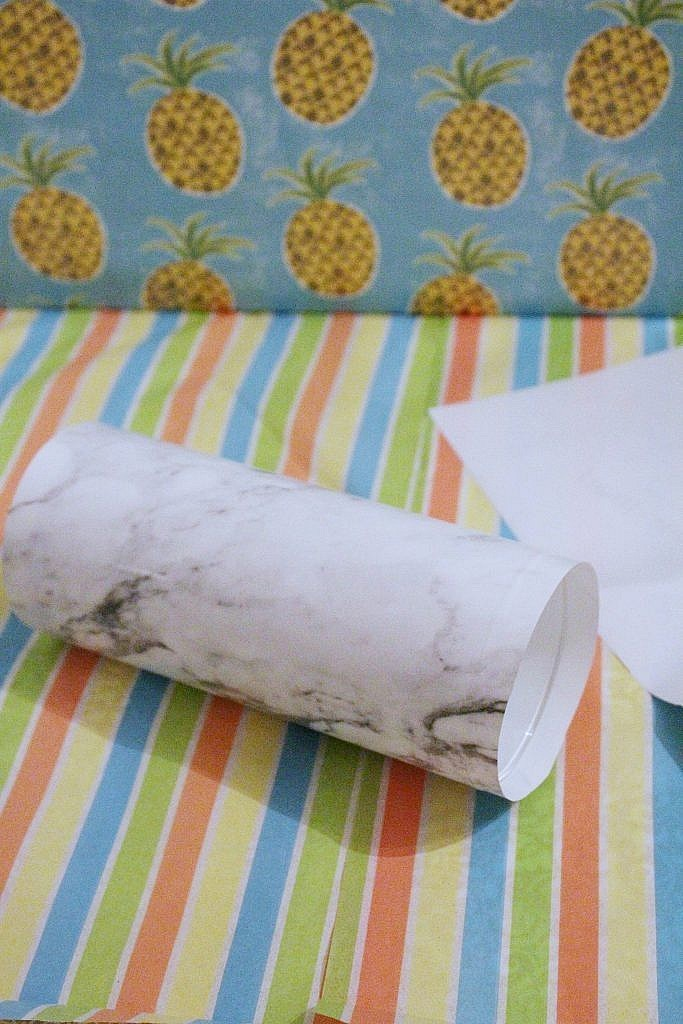 marble vase - apply paper3