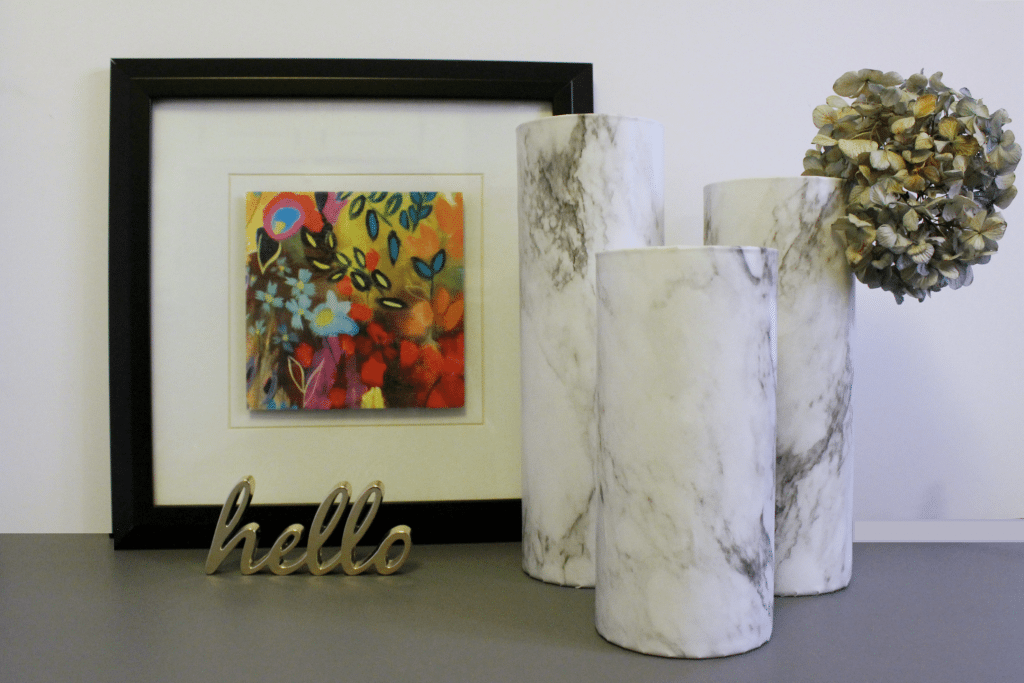 marble vase - horizontal
