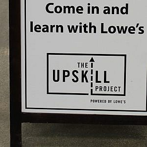 Drywall Repair Magic with Lowes and The UpSkill Project