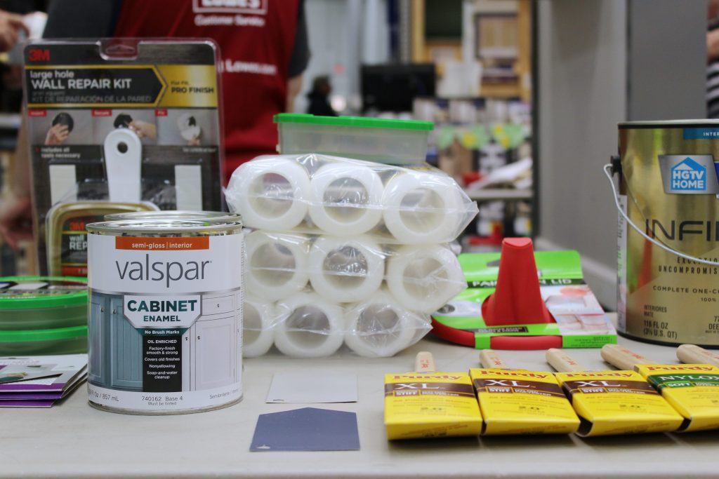 Drywall Repair - The Upskill Project - paint station 3