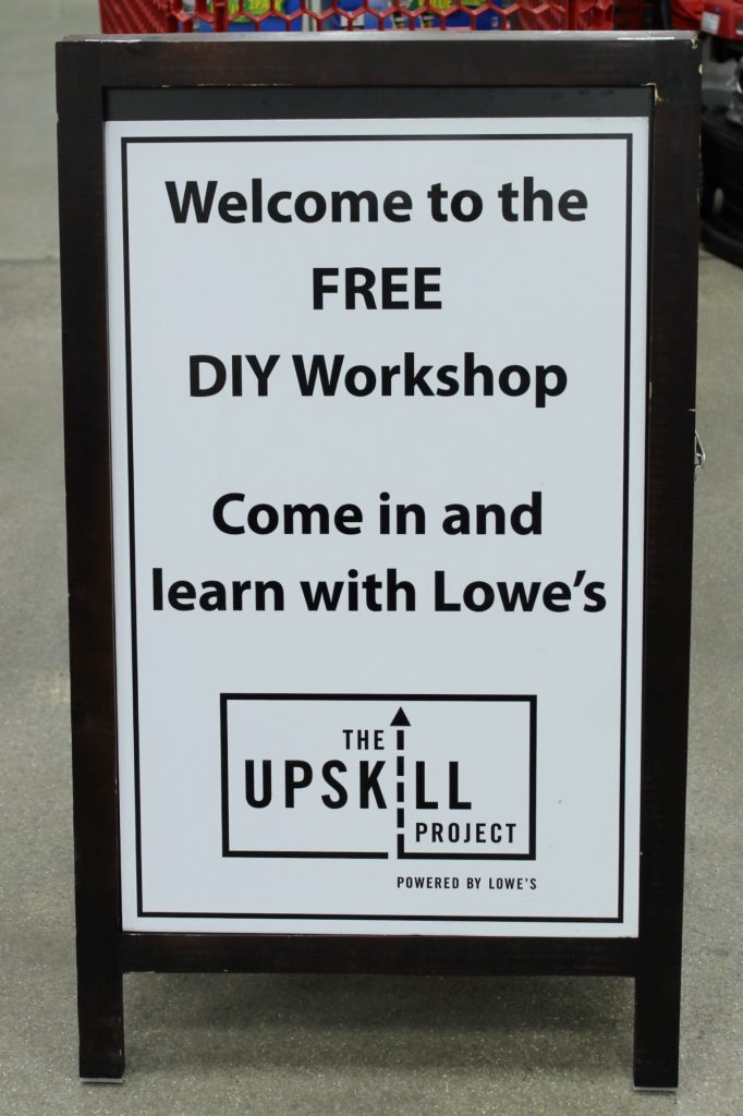 Drywall Repair - The Upskill Project - sign