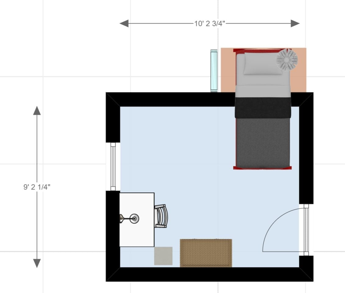 closet bed nook - after layout