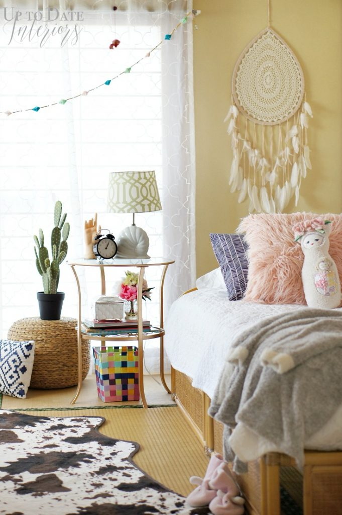 Bohemian Bedroom Glam Teen Girls Room One Challenge