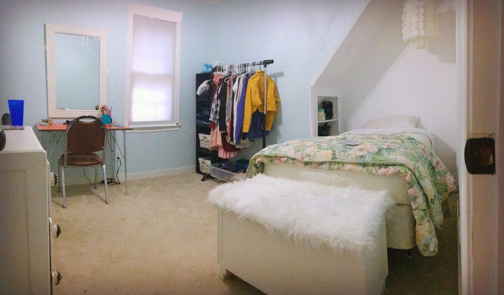closet bed nook - full pan