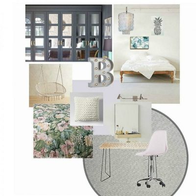 glam bohemian bedroom - feature